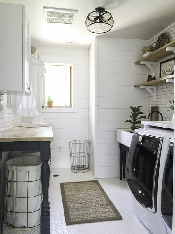 15 Fabulous Farmhouse Laundry Rooms - Joyful Derivatives