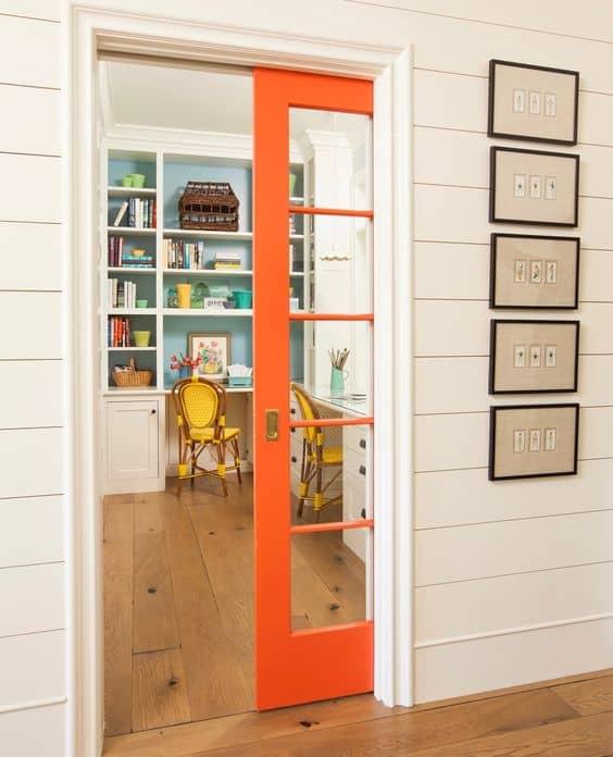 IDEA 1: POCKET DOOR