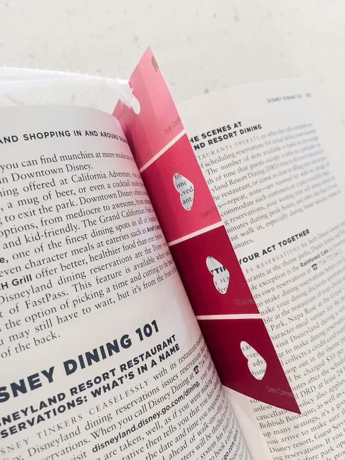 Make DIY Bookmarks for Valentine's Day!