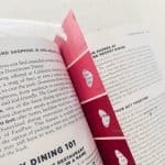 DIY Bookmarks are the perfect valentines gift!