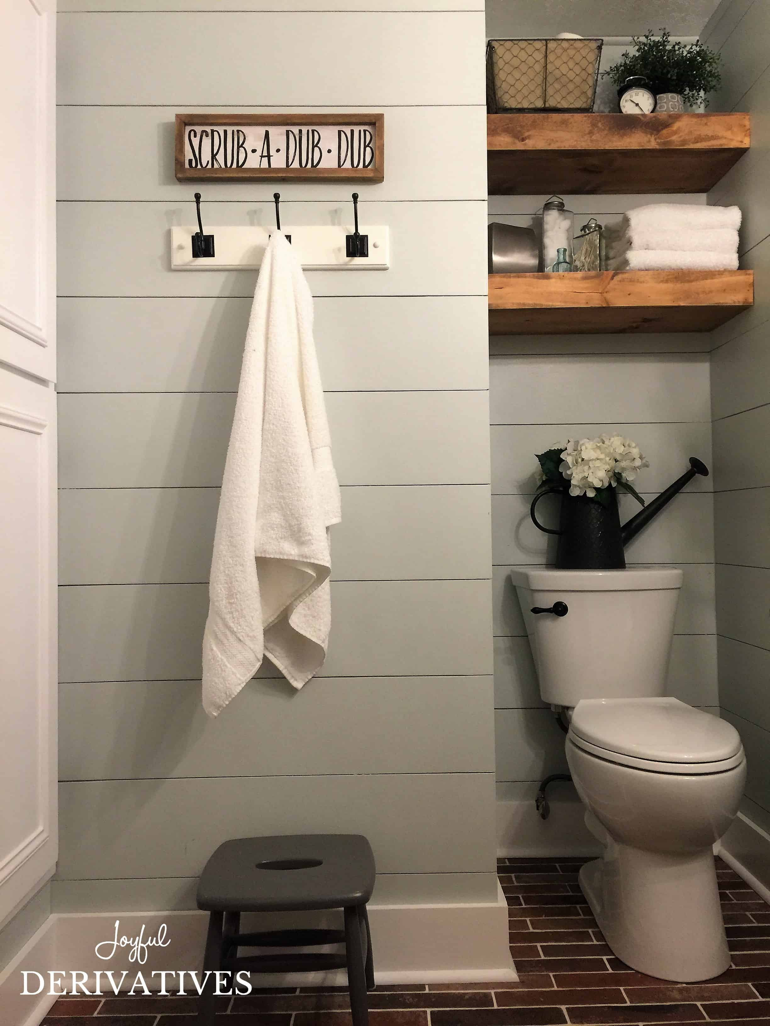 farmhouse bathroom ideas farmhouse bathroom makeover joyful derivatives 11624