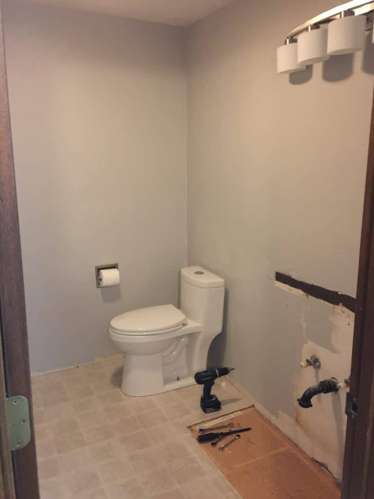 New Bathrooms