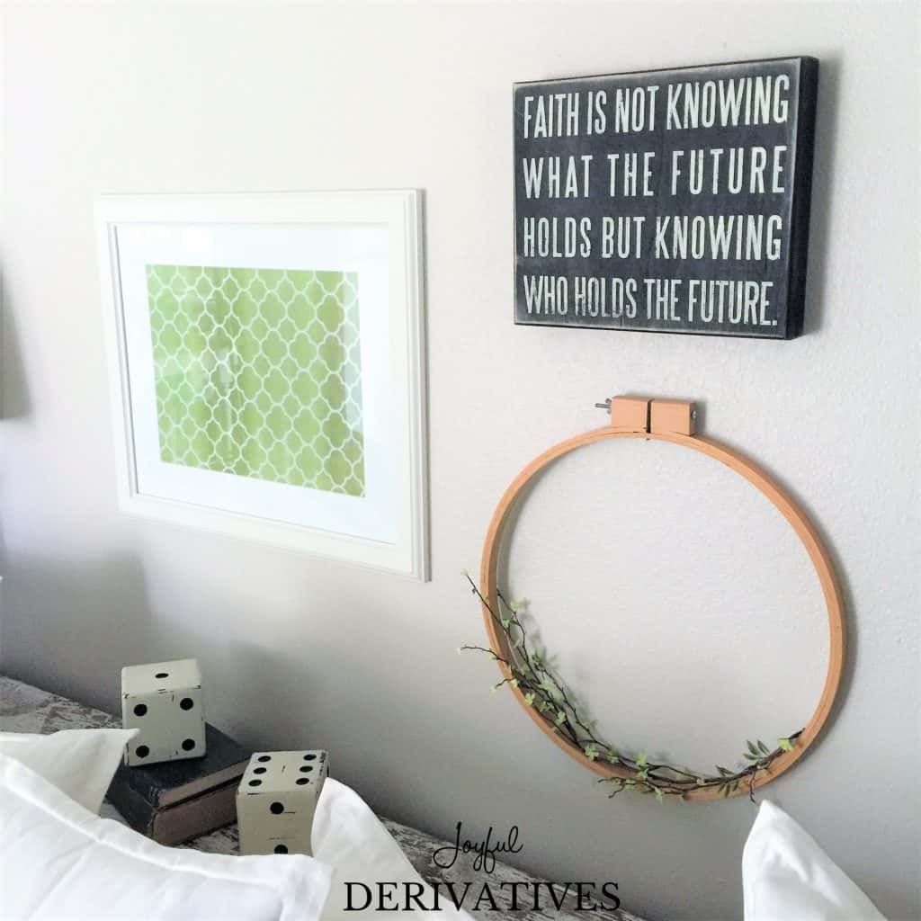Quick and Inexpensive DIY Wall Art