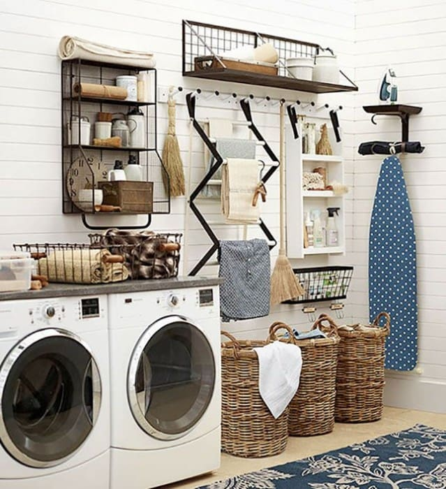 15 Fabulous Farmhouse Laundry Room Design Ideas Joyful