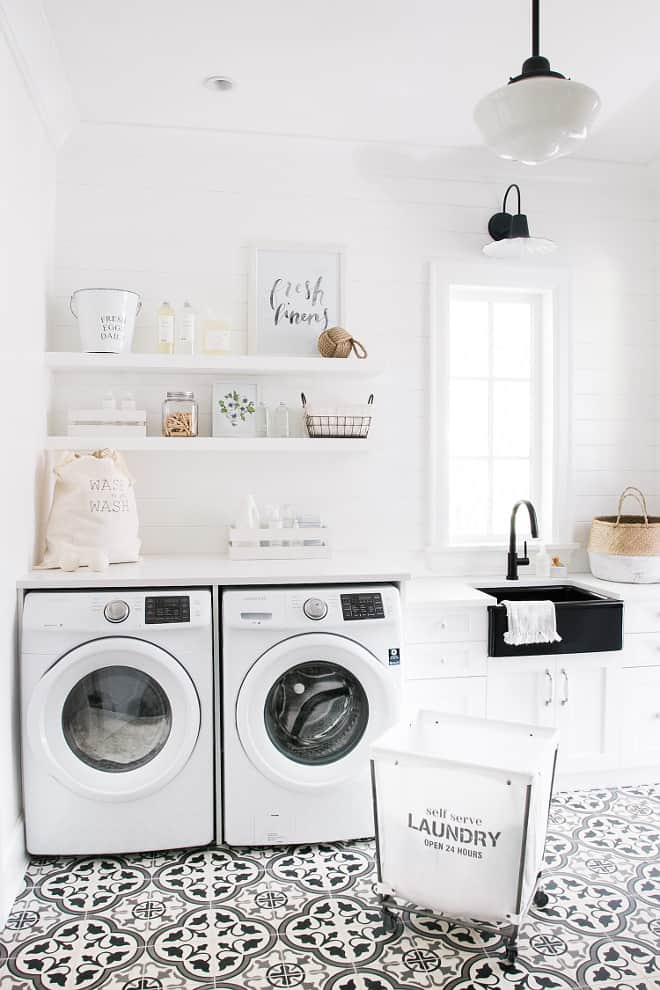 15 Fabulous Farmhouse Laundry Room Ideas Joyful Derivatives