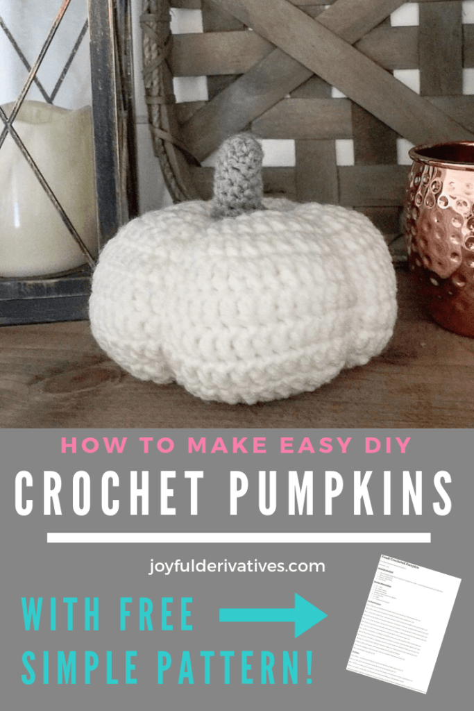 DIY crochet Pumpkin Pattern and tutorial