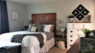 Modern Rustic Master Bedroom Makeover