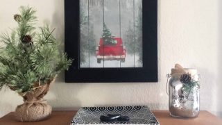 DIY Christmas Decor Print for $1