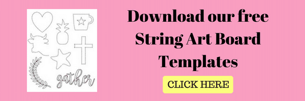 photo about String Art Printable Patterns referred to as Remarkable Nail String Artwork Printable Behaviors - nail artwork