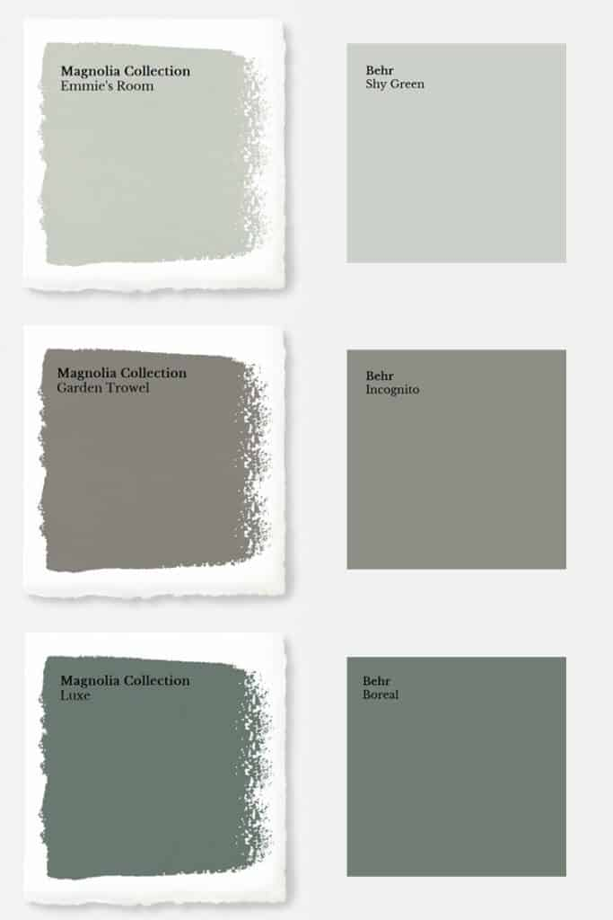 Click Here To These Color Matches For Later And As A Bonus Get Copy Of Our Paint Sheen Quick Reference Guide Absolutely Free