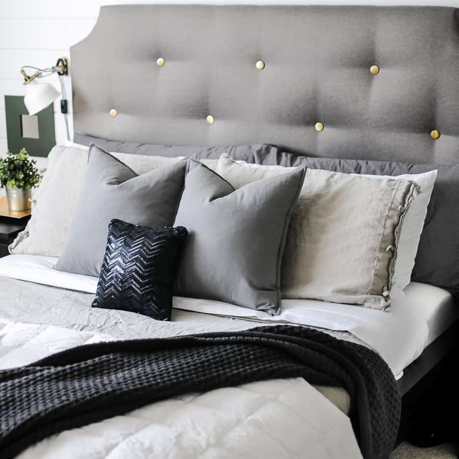 Nicely made bed from instructions for how to make a bed perfectly.