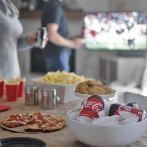 Free printable super bowl party ideas with super bowl party must haves and super bowl party checklist.