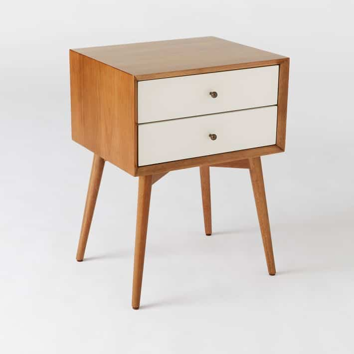 West Elm Mid Century Knock Offs - West Elm Nightstand