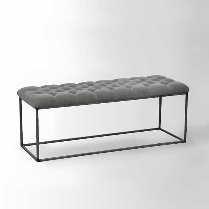 West Elm Mid Century Knock Offs - West Elm Bench