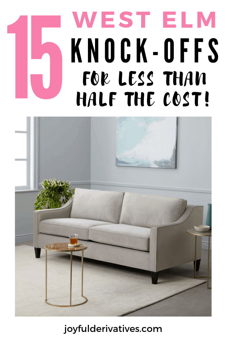 West elm style furniture Wood West Elm Has Always Been One Of My Favorite Designer Home Stores Love The Way They Mix Modern And Cozy Together To Give Something That Is Both Stylish Digital Trends Get The West Elm Mid Century Look For Half The Cost Joyful