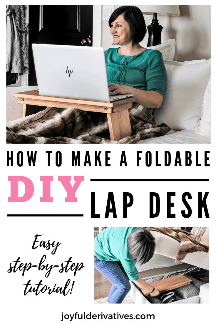 Diy Lap Desk Folding Bed Tray Table Tutorial Joyful Derivatives