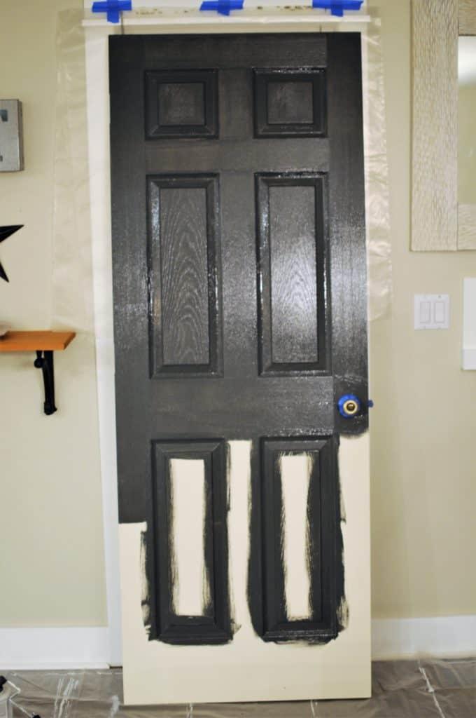 How To Paint An Interior Door With Panels The Easy Way Joyful