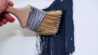 How to Paint a Panel Door Perfectly in Under an Hour