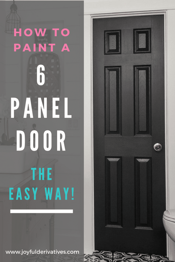 In The Process Of Painting All Those Doors I Ve Developed This Easy Method For With Panels Using A Brush And Roller