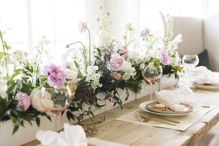 Easter Tablescape by Rach at Pink Peonies