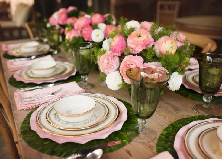 Easter Tablescape at the Farm by Jess at J. Cathell