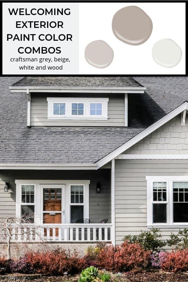 5 Welcoming Exterior Paint Color Combinations Joyful Derivatives