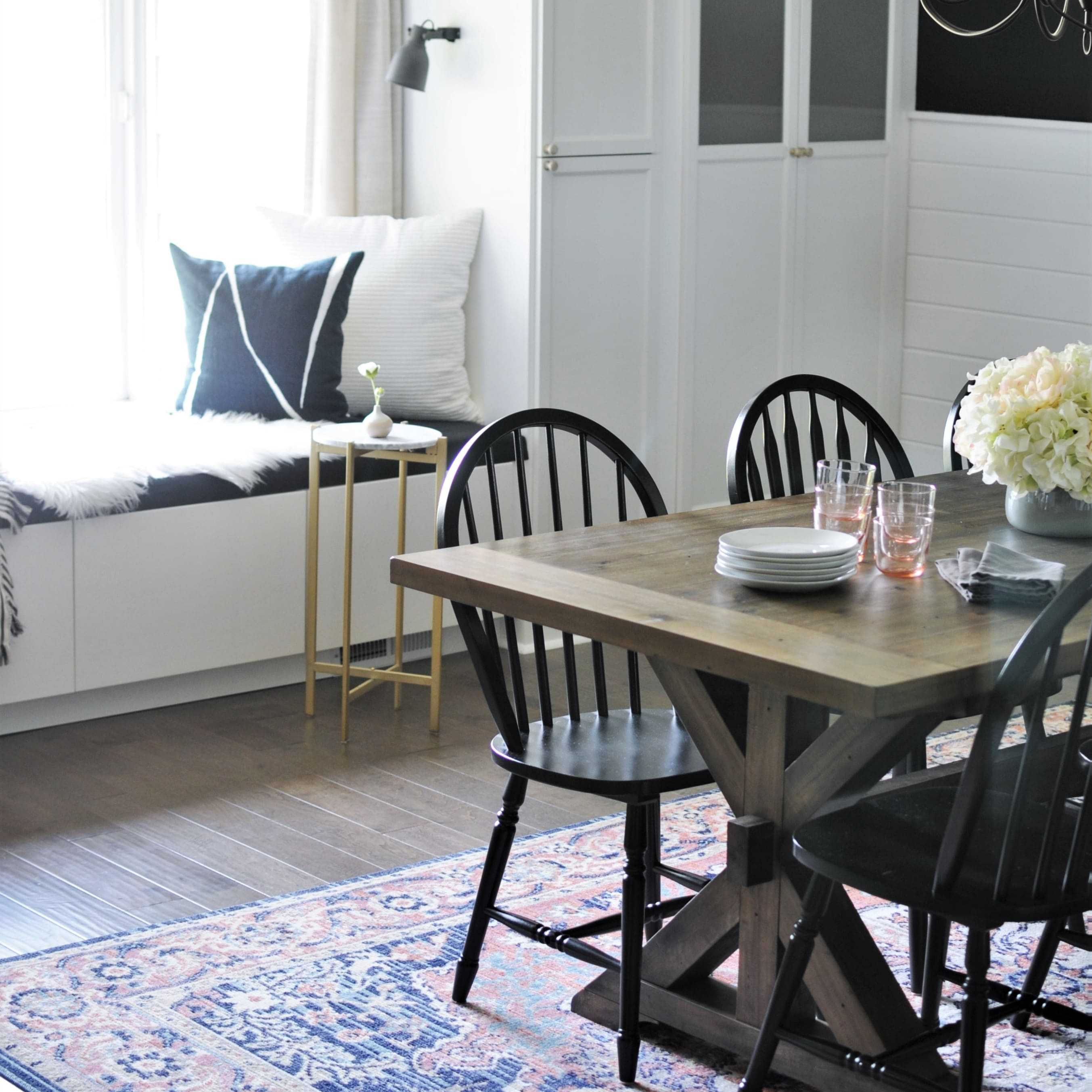 Blush & Moody Dining Room Makeover REVEAL!