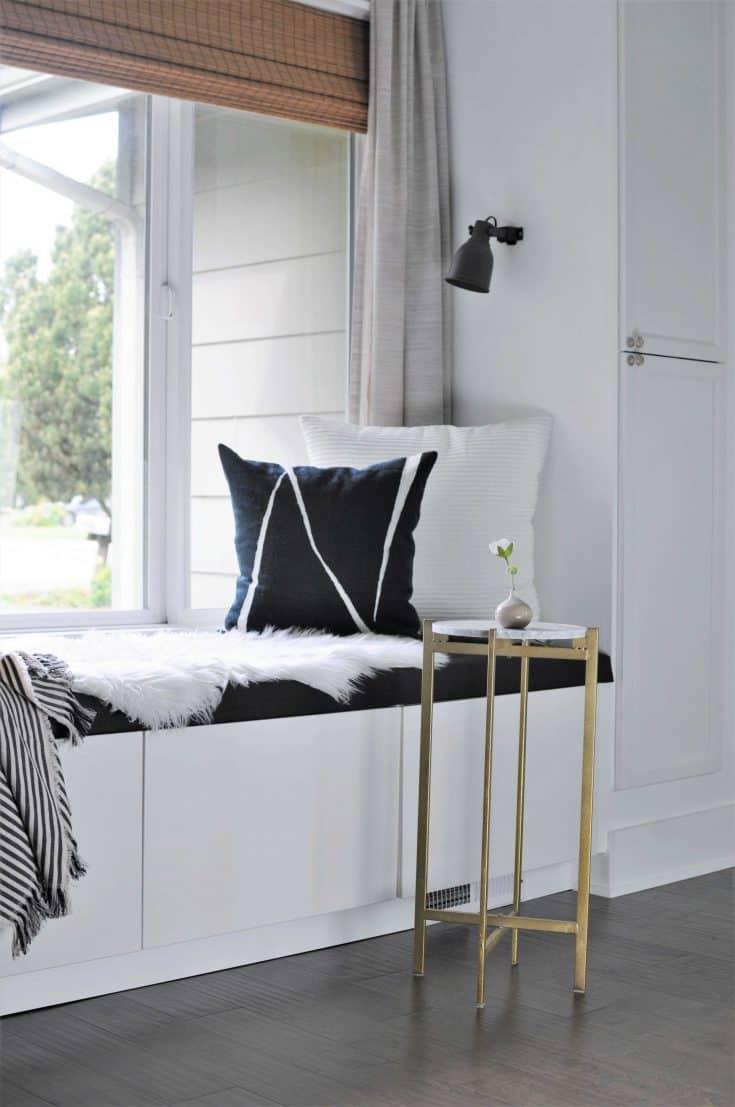Stupendous Diy Window Seat With Storage Out Of Ikea Cabinets Joyful Uwap Interior Chair Design Uwaporg