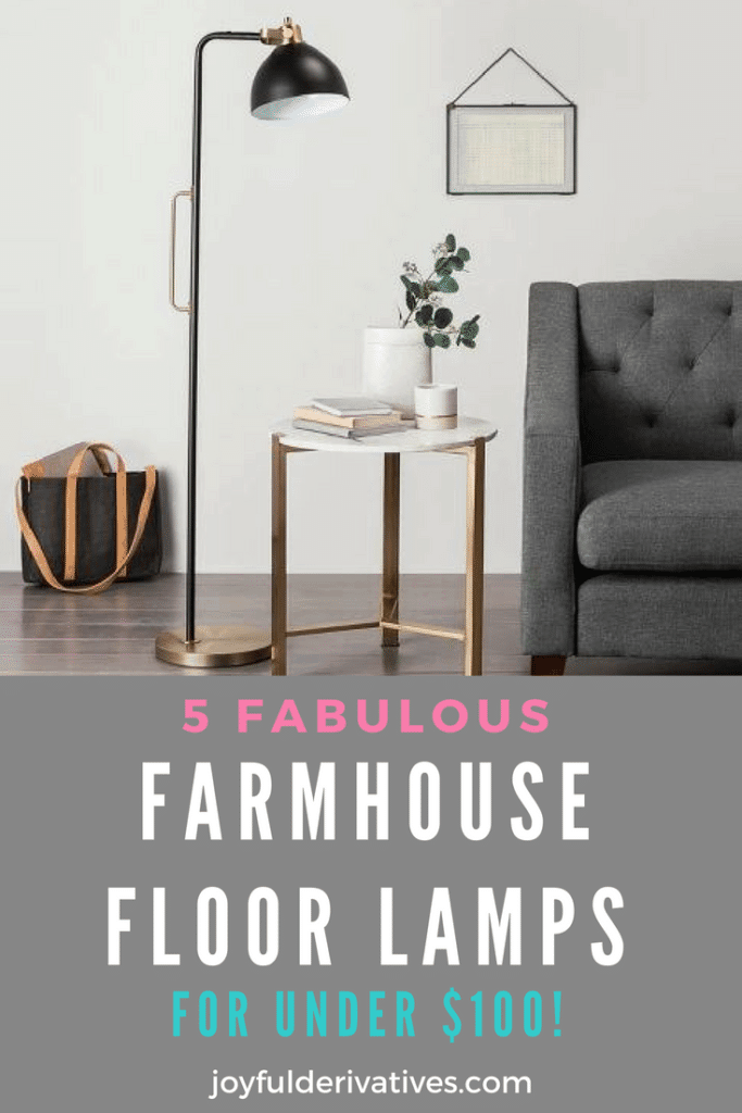 Farmhouse Floor Lamps For Under 100