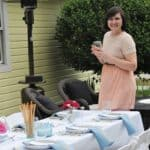 A Beautiful Backyard Patio Summer Luncheon