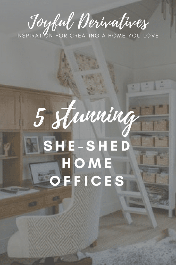 She-Shed Home Office Inspiration