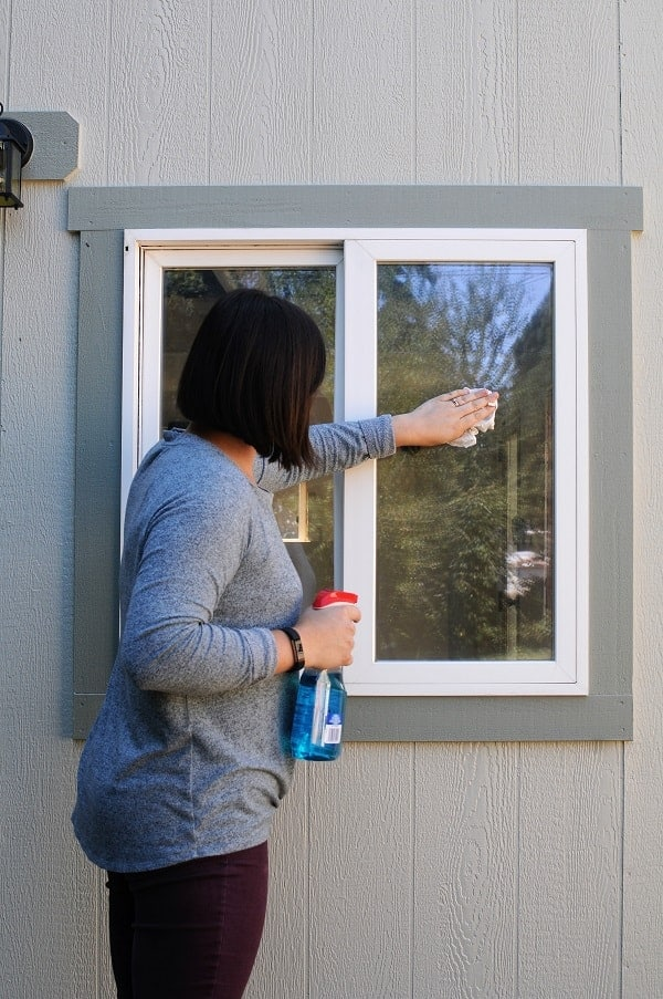 It S Critical That You Clean Your Window Really Well Before Installing The Trim So Glue Can Strongly Adhere I Used Cleaner And A Paper