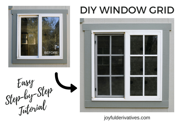 Add style to your home by using this tutorial to install a window grid.