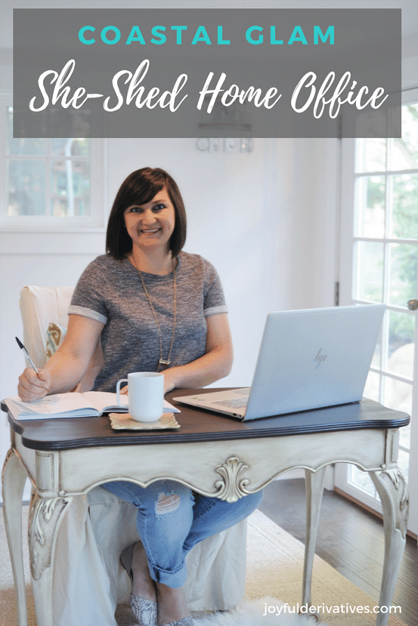 She-Shed Home Office Reveal