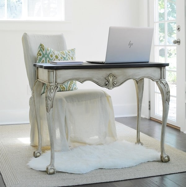 Tips For Redecorating Your Home Office: A Coastal Glam Home Office