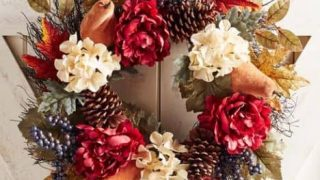 Fall Wreaths for Front Door Decorating - 15 under $30!