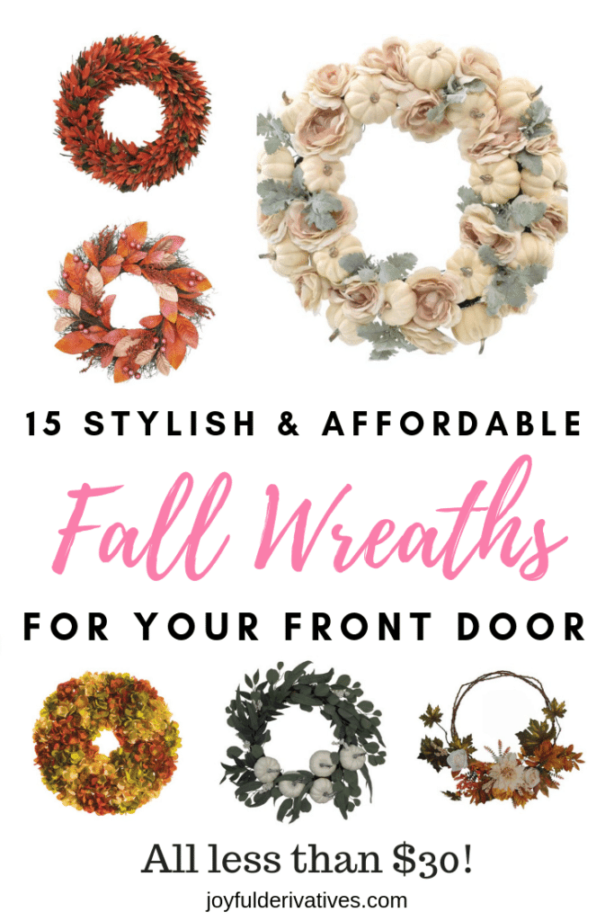 10 Stylish Fall Wreaths Ideas With Corn And Corn Husk For Door