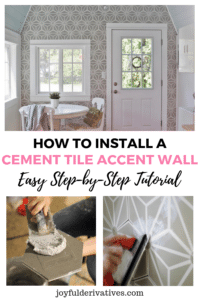 How to Install a Tile Accent Wall DIY Tutorial