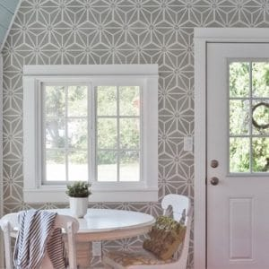 How to Install a DIY Cement Tile Accent Wall