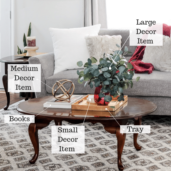 Essential elements for coffee table styling like a designer.