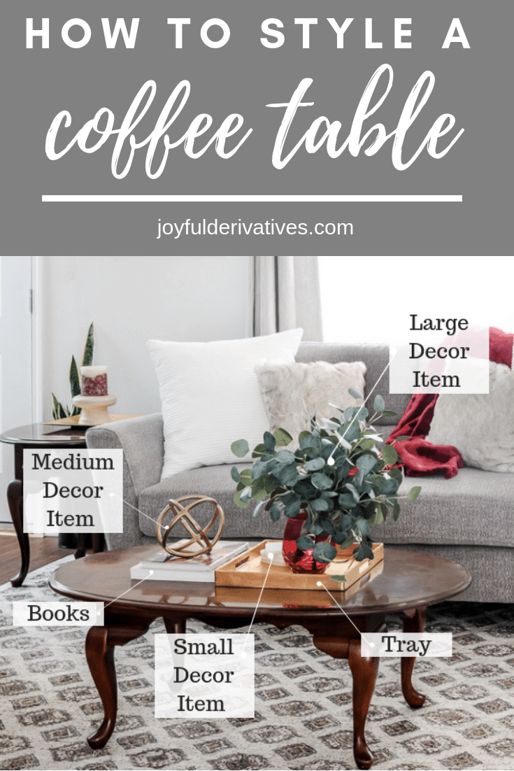 Coffee Table Styling - How to Decorate your Coffee Table like a Designer