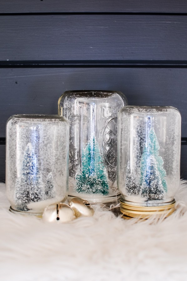 Mason Jar Snow Globe Diy Tutorial Joyful Derivatives