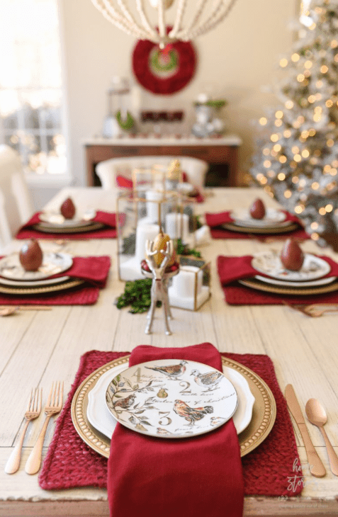 Christmas Table Settings Ideas Pictures.Simple And Modern Christmas Table Settings Ideas Joyful