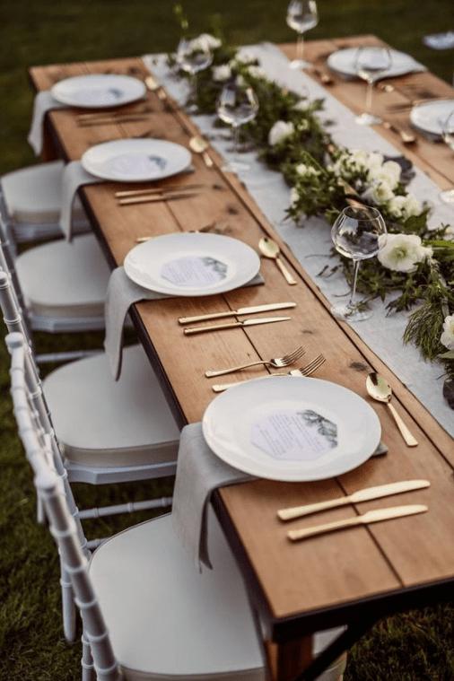 Christmas Table Settings.Simple And Modern Christmas Table Settings Ideas Joyful
