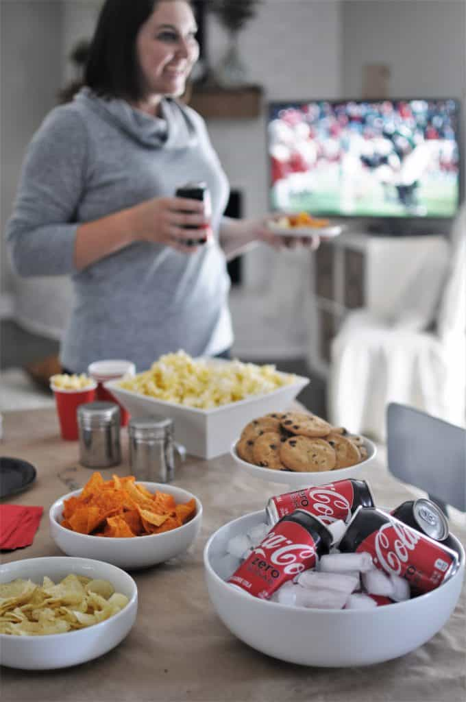 Super Bowl Party ideas for food table.