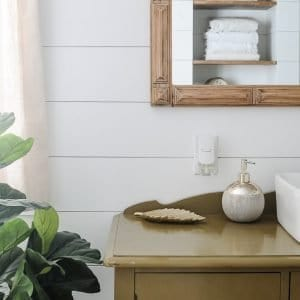 Easy ways to refresh a guest bathroom.