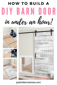 How to build a barn door pin image.