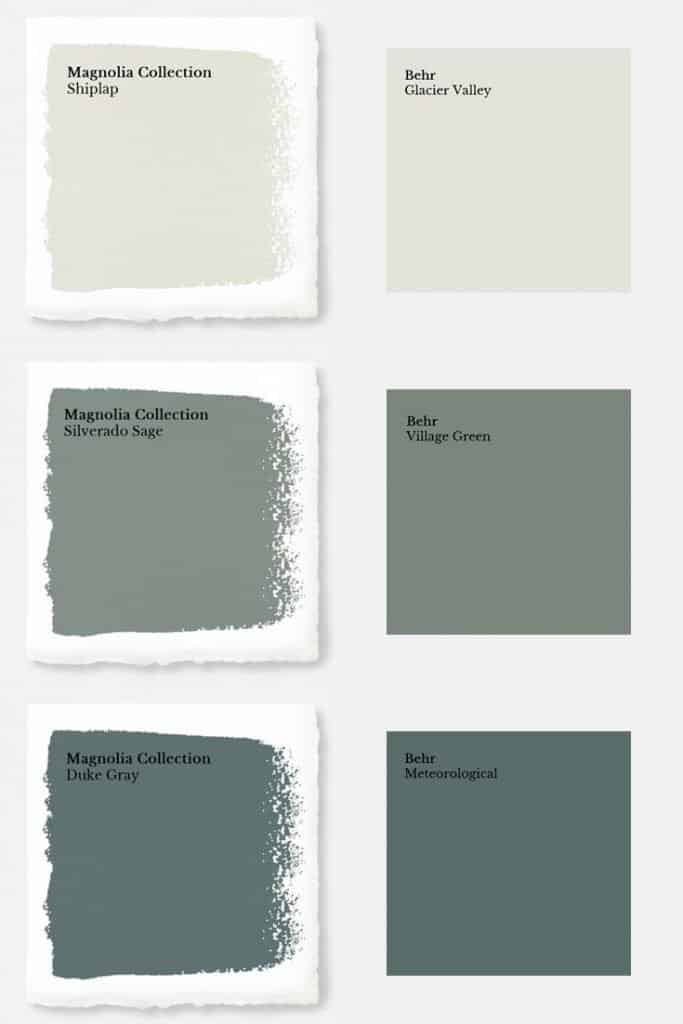 How To Get Fixer Upper Paint Colors From Home Depot