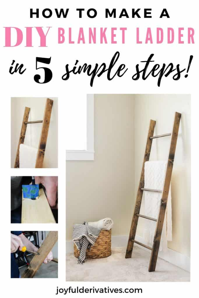How To Make A Blanket Ladder For 25 Joyful Derivatives