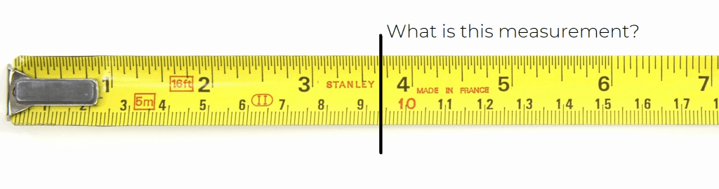 How To Read A Tape Measure Simple Tutorial Free Cheat